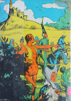 O Picapau Amarelo. Monteiro Lobato. Editora Brasiliense. Augustus (Augusto Mendes da Silva). Contracapa de Livro. Década de 1950. Década de 1960.