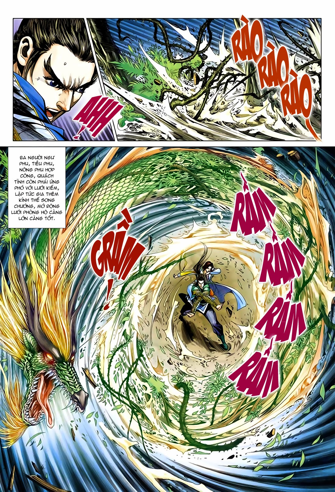 Anh Hùng Xạ Điêu anh hùng xạ đêu chap 75: hoàng thành cựu sự trang 3