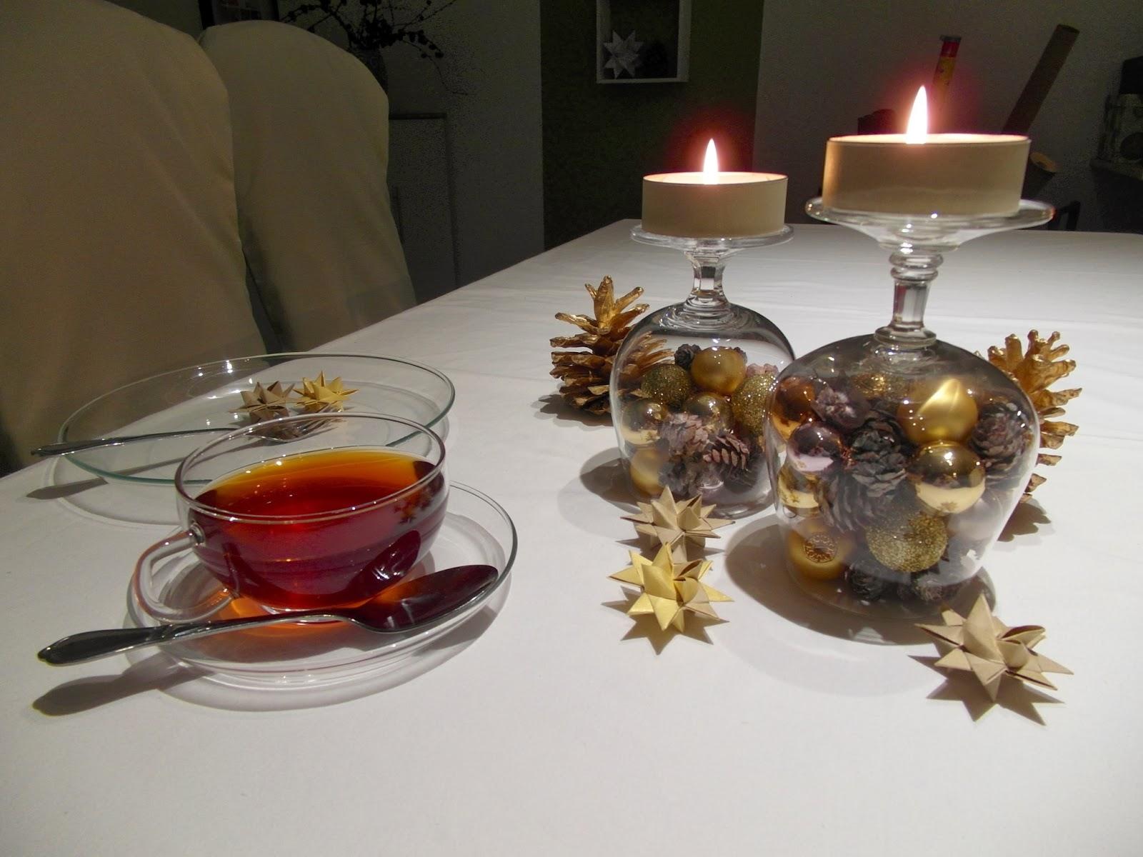 Haus voller Ideen: weihnachtliche Tischdeko