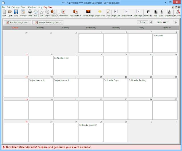 تحميل برنامج للتذكير بالمواعيد للكمبيوتر Smart Calendar 3.2