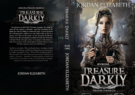 Treasure Darkly - Cover Reveal