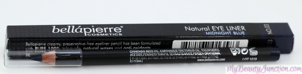 Bellápierre Cosmetics Natural Eyeliner in Midnight Blue
