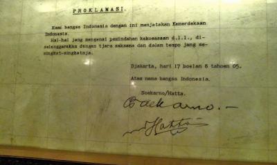 Fakta Perumusan Teks Proklamasi Kemerdekaan Indonesia Yang Jarang Diketahui