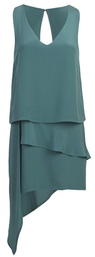 Layered Dress in Seafoam