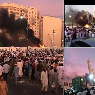 Bom Bunuh Diri Guncang Kota Madinah Arab Saudi