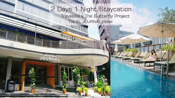My 2 Days 1 Night Staycation at The KL JOURNAL Hotel