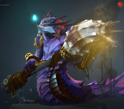 slardar golden grasping bludgeon dota 2 mods