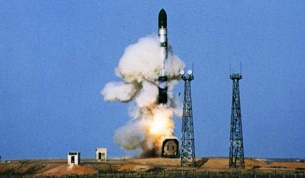ICBM Sarmat Rusia