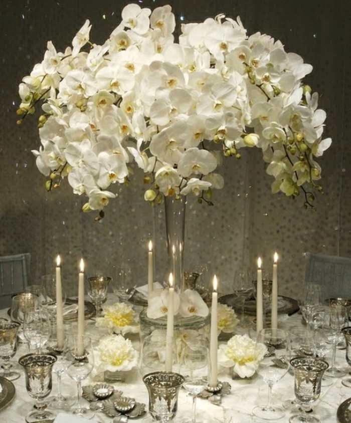 White Flowers For Winter Weddings