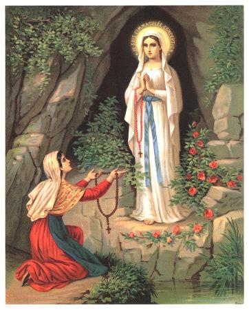 Sứ điệp Lộ Đức và Tín điều Đức Mẹ Vô Nhiễm