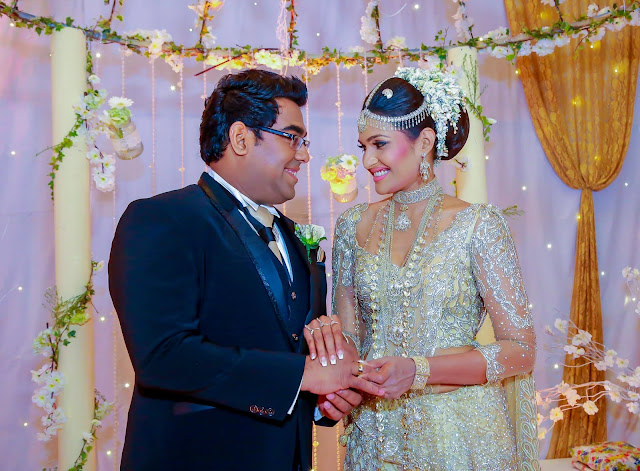 Swarnavahini Presenter Lakme Perera's Wedding