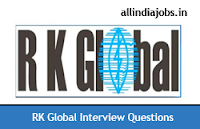 RK Global Interview Questions