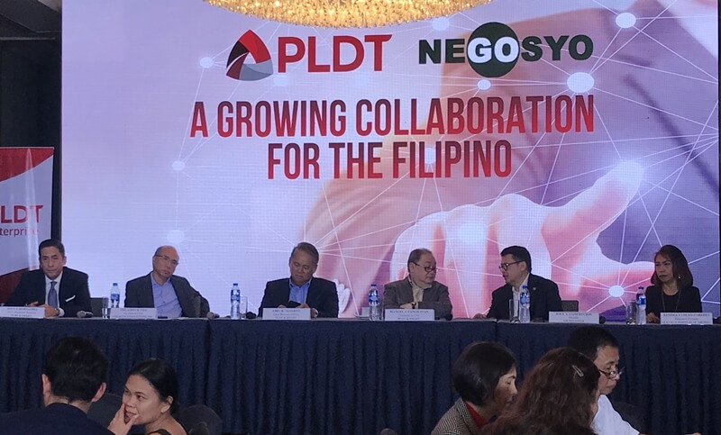 PLDT, Voyager and Go Negosyo Team Up for SME E-Commerce Enablement Program