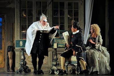 ENO - Rossini: Barber of Seville - Alan Opie, Eleazar Rodriguez, Sarah Tynan, (c) Robbie Jack