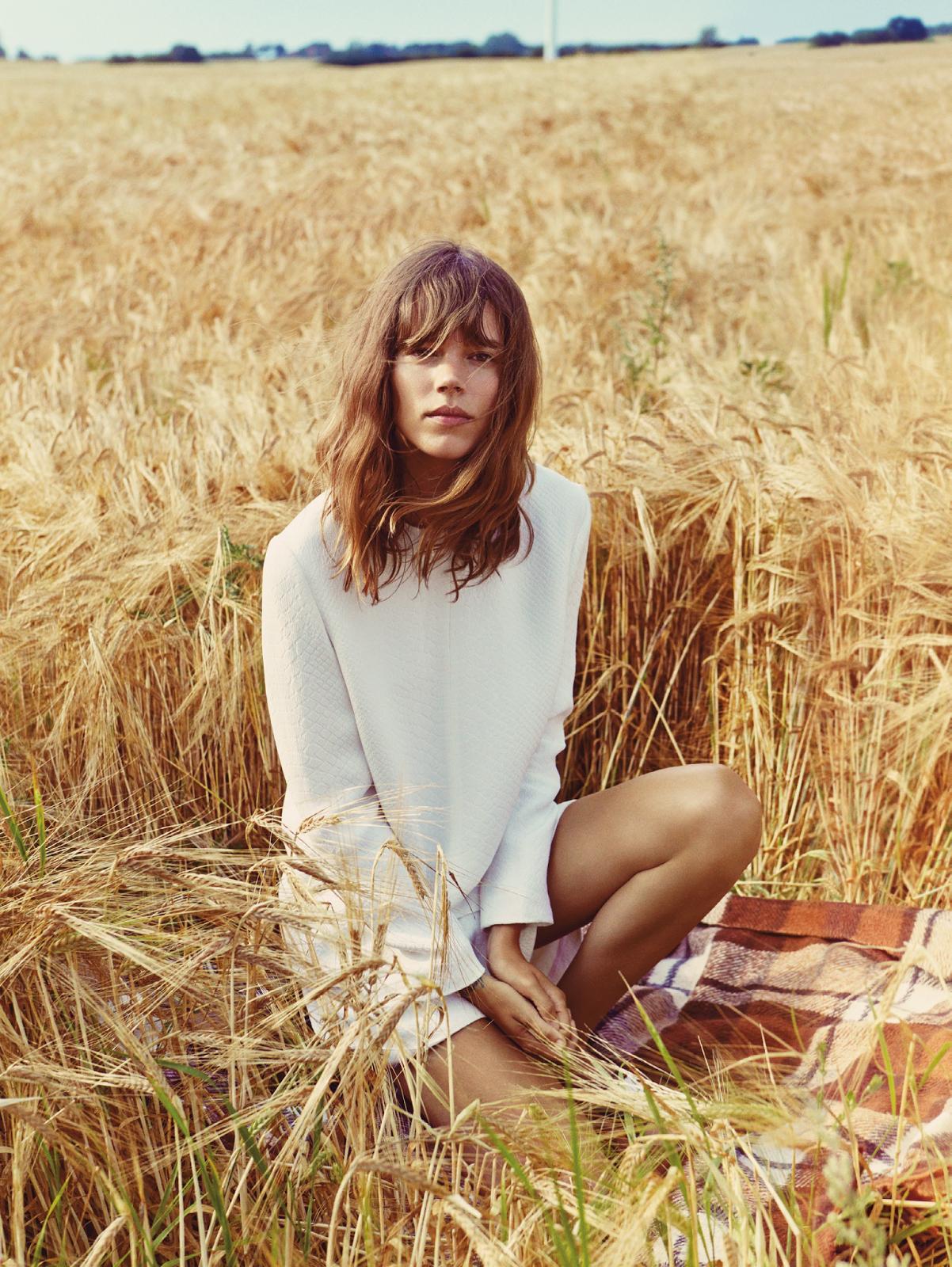 Shore Leave Freja Beha Erichsen By Cass Bird For Uk Vogue