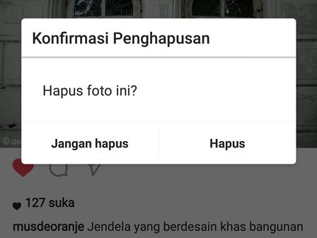Cara Menghapus Foto Di Instagram Dengan Cepat Dan Mudah