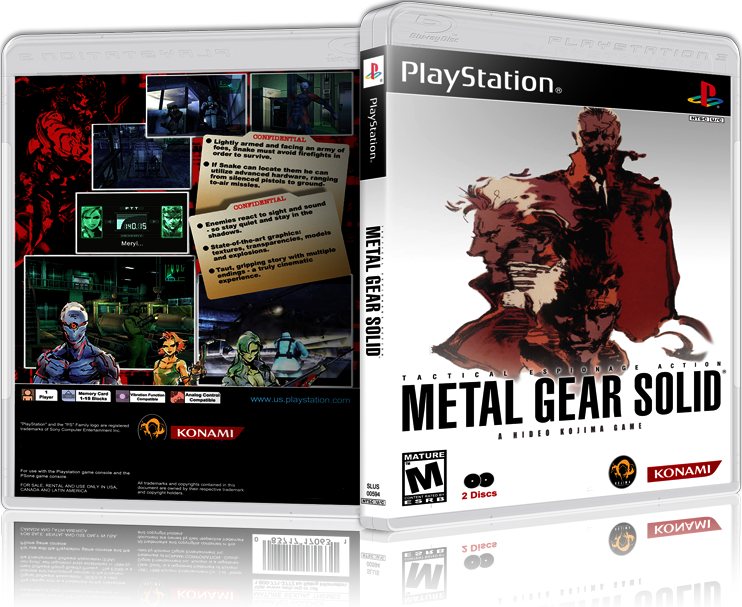 metal gear solid ps1 iso
