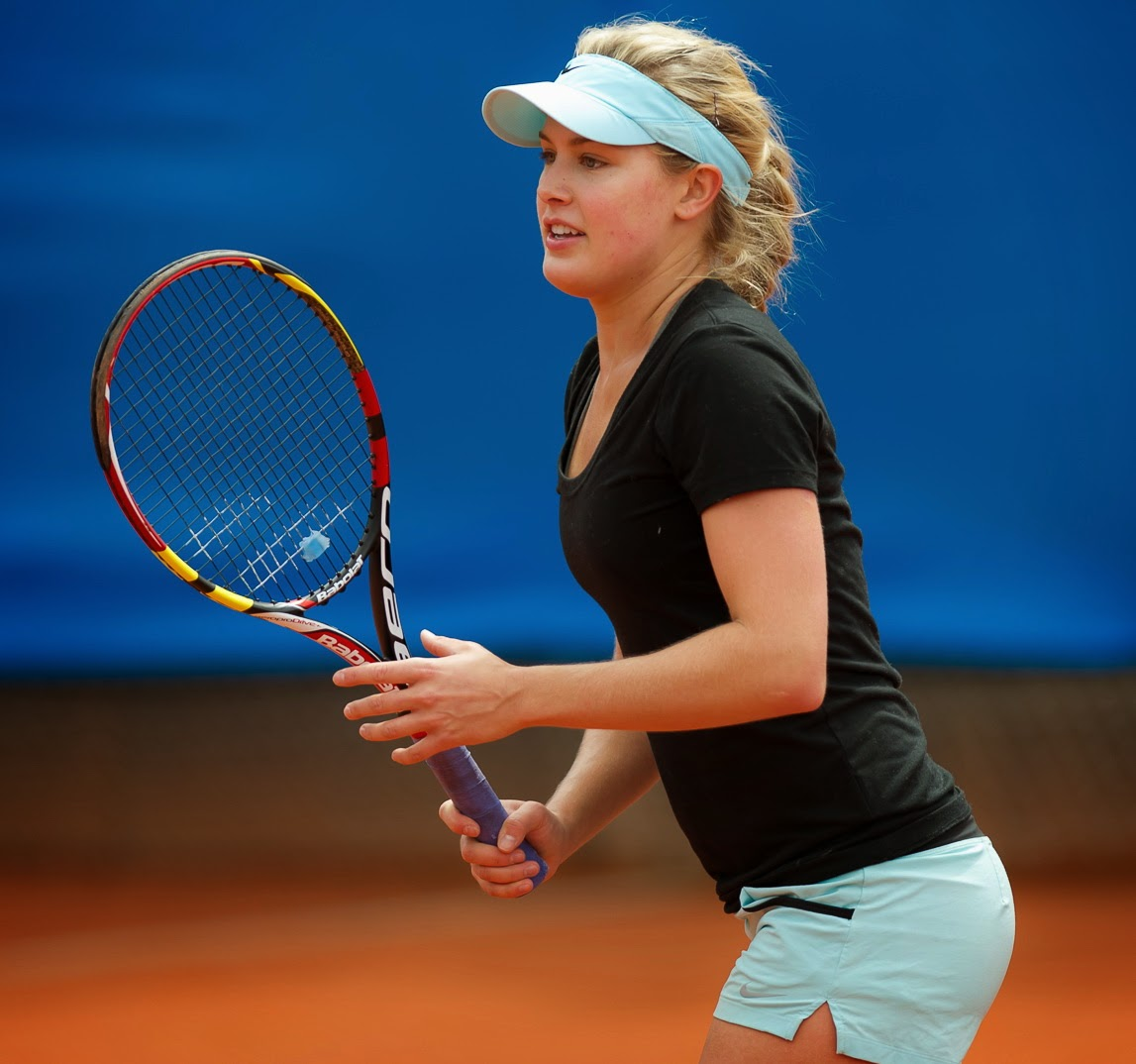 Eugenie Bouchard Brand New Hot Pictures 2014-15