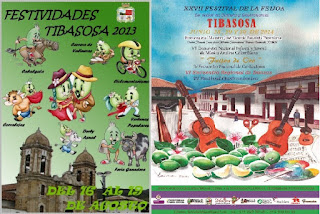 carteles promocionales fiestas de tibasosa