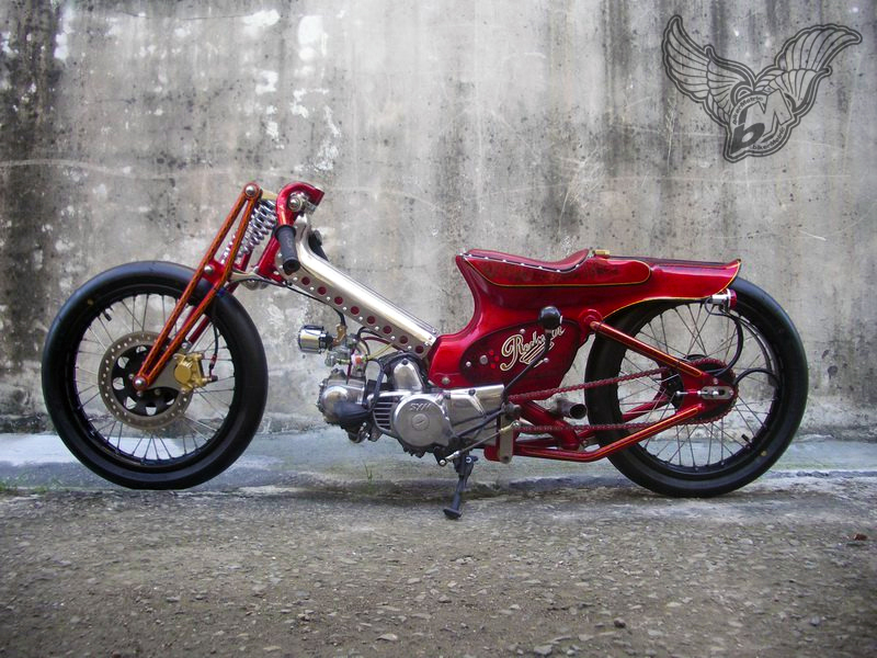 radical scooter chopper thingy by afs taiwan - bikerMetric