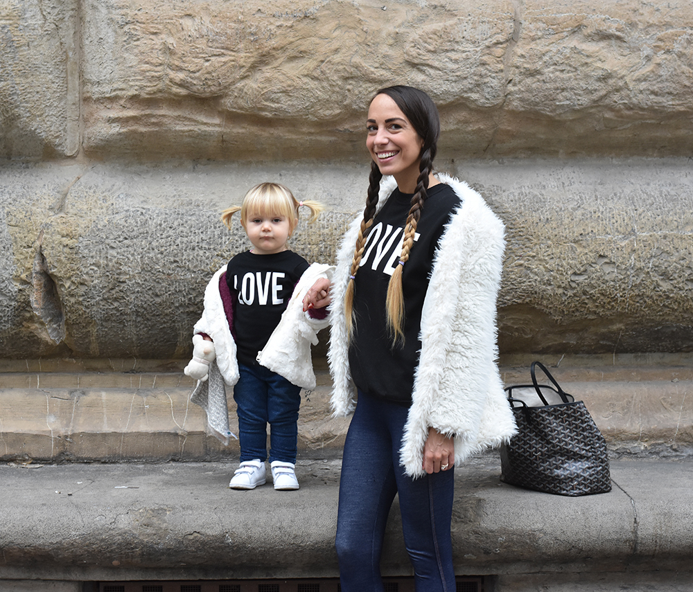 look coordinato mamma e figlia