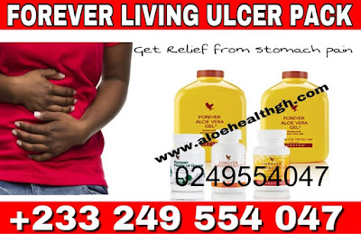 forever-living-products stomach ulcer pack-aloe vera gel-fields of greens