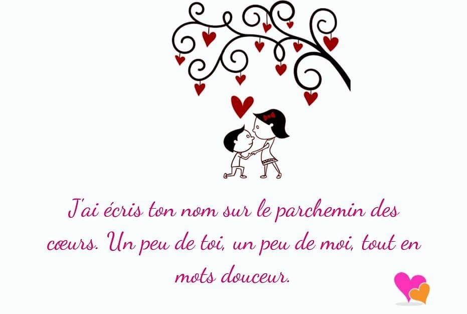 Fabuleux Phrases et messages d'amour | Poèmes & Poésie d'Amour GG03