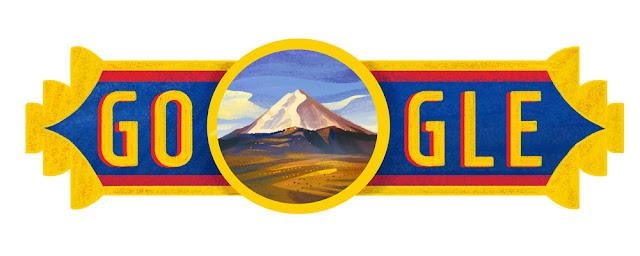 Ecuador National Day 2016 - Google Doodle