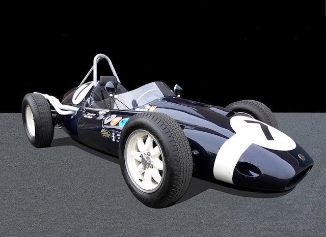 Cooper T51 1950s classic GP racing car