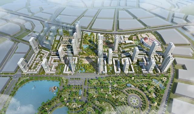 Quy mô dự án The Manor Central Park Nguyễn Xiển