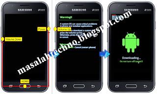Cara Masuk Download Mode pada ponsel Samsung