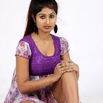 Swapna Spicy in Purple Dress