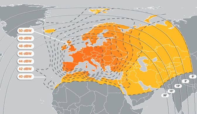 Eutelsat 16A Channels Frequency - Channels Frequency