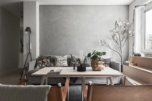 A stylish modern Swedish apartment
