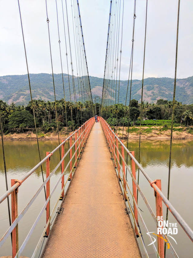 The Injathotty suspension bridge of Kerala