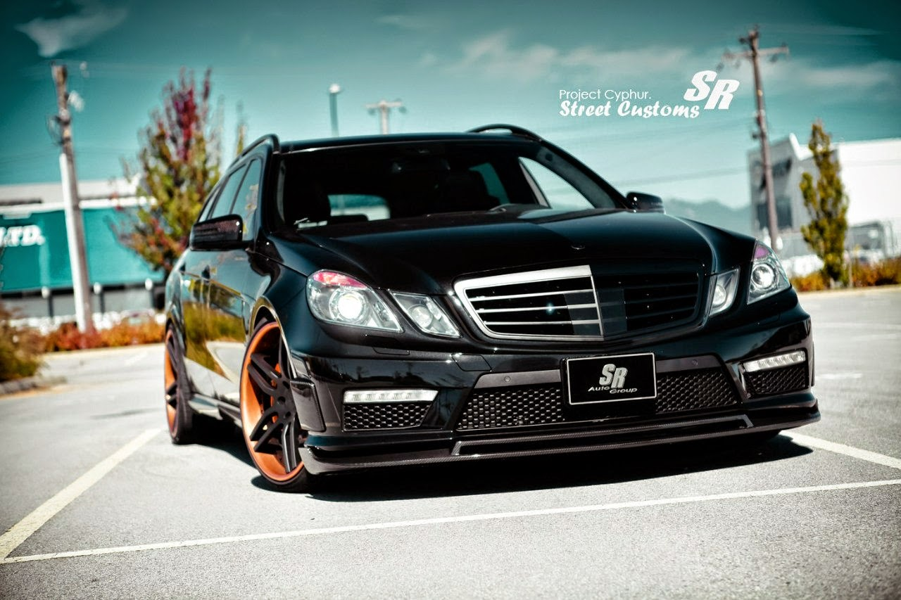 mercedes benz w212 e63 amg estate brabus style benztuning. Black Bedroom Furniture Sets. Home Design Ideas