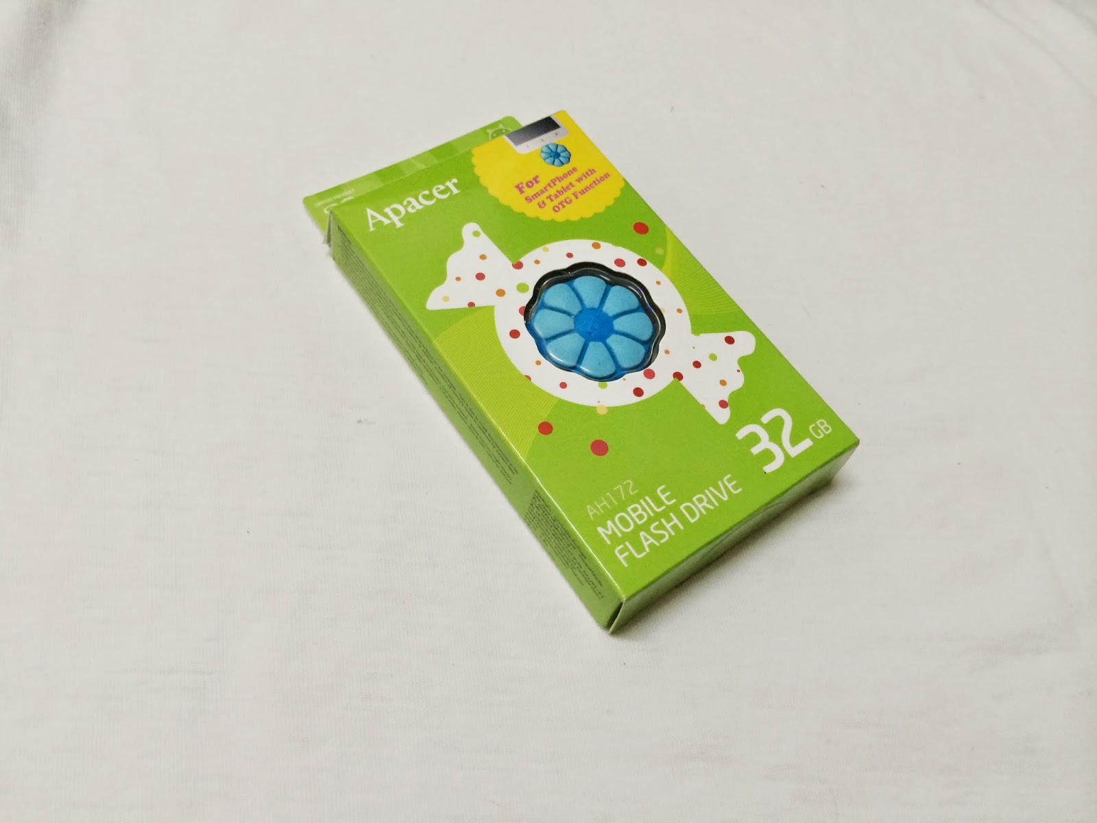 APACER AH 172 FLOWER CANDY Mobile Flash Drives OTG Review 18