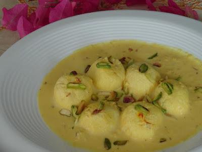 rasmalai, Diwali sweets