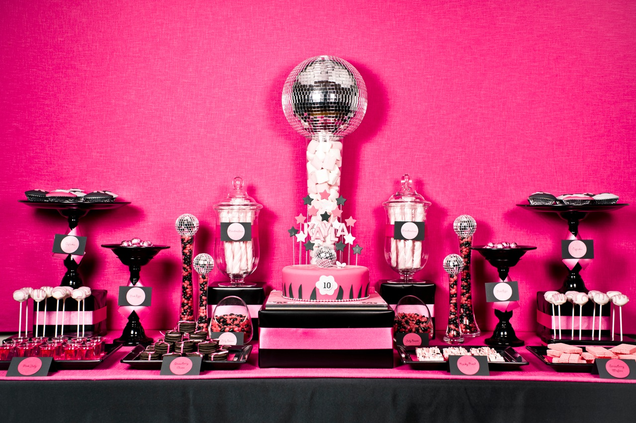 Mon Tresor Sweet Table Contest Submission, Round 2