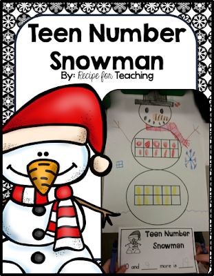 https://www.teacherspayteachers.com/Product/Teen-Number-Snowman-1736968