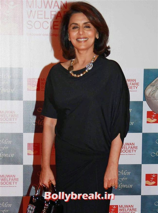 Neetu Singh, Top Bollywood Celebs at Men For Mijwan Charity Fashion Show