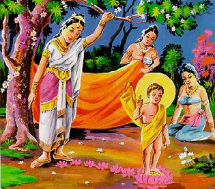 Kumpulan Gambar Sang Buddha Dari Lahir Sampai Parinibbana