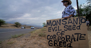 Monsanto evil seed of corporate greed
