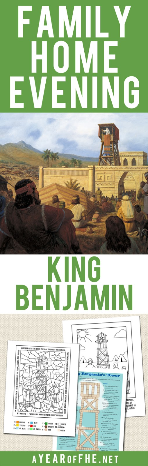 A Year of FHE: Year 03/Lesson 26: King Benjamin