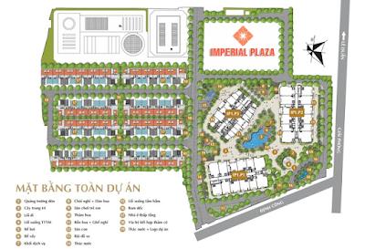 Quy hoạch tổng thế dự án Imperial Plaza