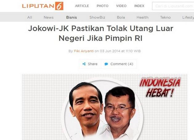 Cuma Dalam 2,5 tahun, Jokowi Tambah Utang Rp 1.062 triliun!