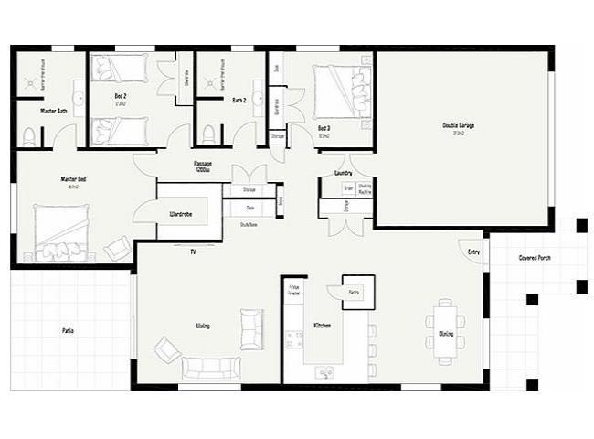 Descargar planos de casas y viviendas gratis fotos de for Casa con grande garage