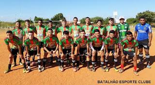 Batalhão X Riacho Doce é o clássico deste domingo (19) pela manhã na Copa João Balduíno