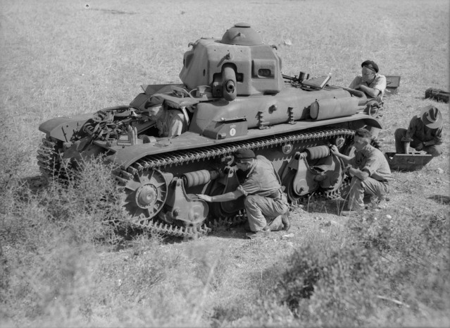 French R35 tank in Syria 13 June 1941 worldwartwo.filminspector.com