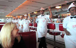 Johnny Rockets Royal Caribbean Cruise Ship